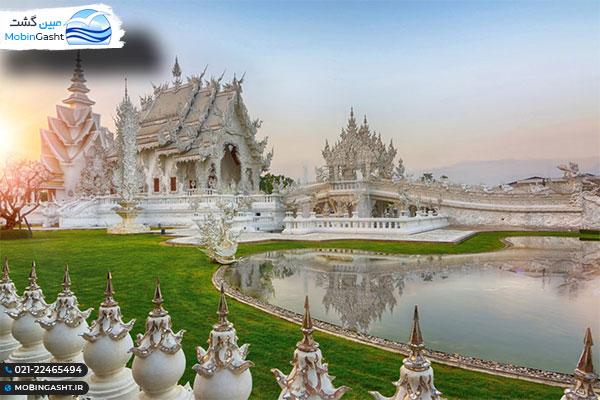 معبد وات رانگ کان معبد سفید تایلند