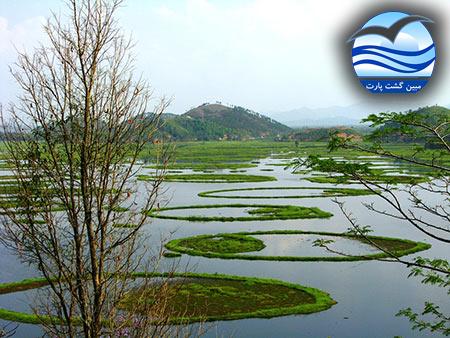 تصاویر دریاچه شناور (دریاچه لوکتاک)