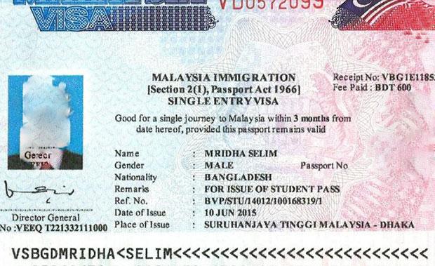ویزای کاری مالزی