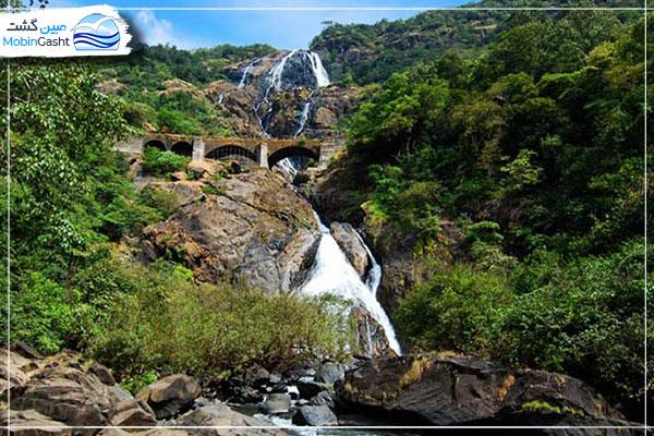 آبشار-دودهساگار-Dudhsagar-Waterfalls