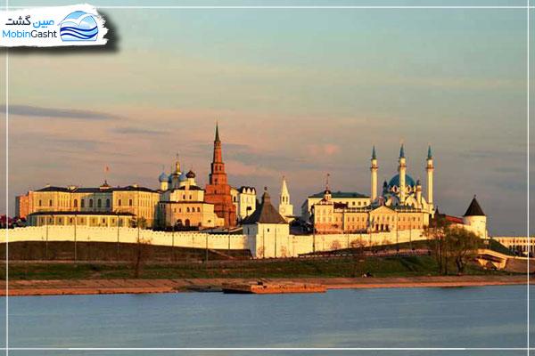 کاخ-تاریخی-کرملین-کازان-(Kazan-Kremlin)