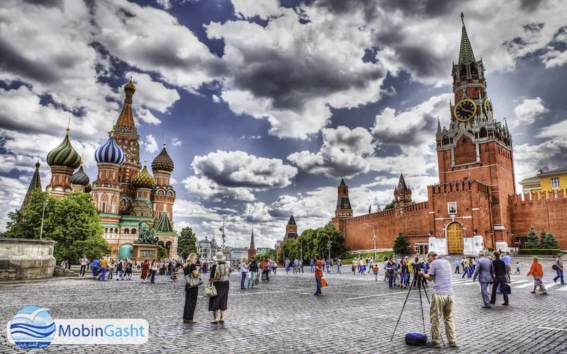 میدان-سرخ-مسکو-روسیه