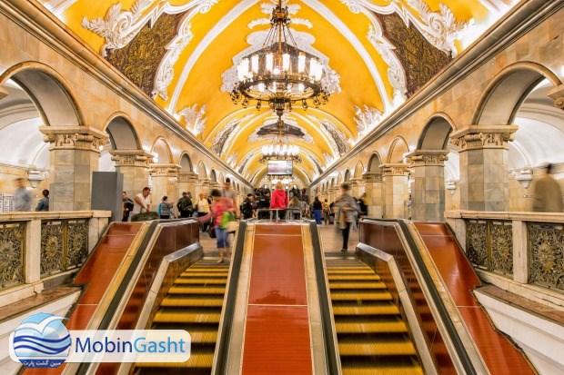 مترو-مسکو-روسیه