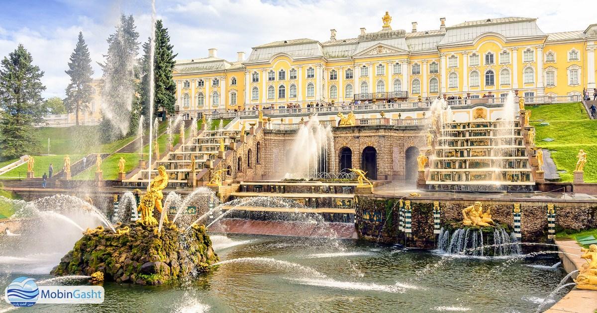 کاخ-پترهوف-سنت-پترزبورگ-روسیه