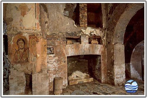 دخمه-های-مردگان-و-جاده-آپیا-(the-catacombs-and-via-appia-antica)